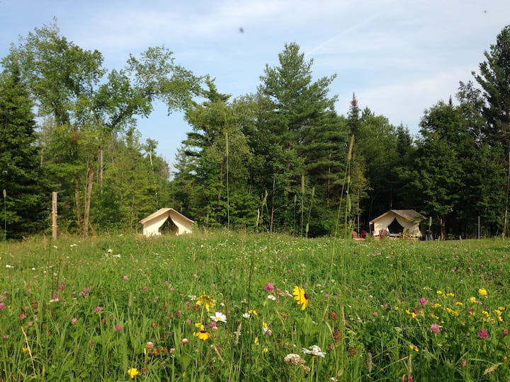 CAMP RICHARD ON PRETTY ADK FARM