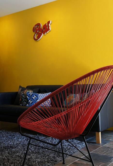 Lounge on Acapulco Chair