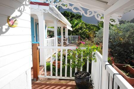 Villa Colibris avec vue magnifique Nord caraibe - Le Morne-Vert - Huis