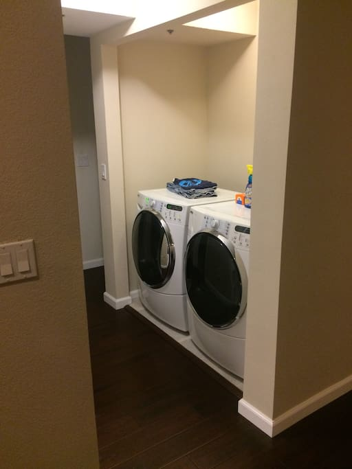 Large Washer and Dryer