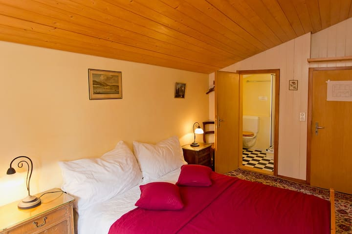 Pension Gimmelwald, double room