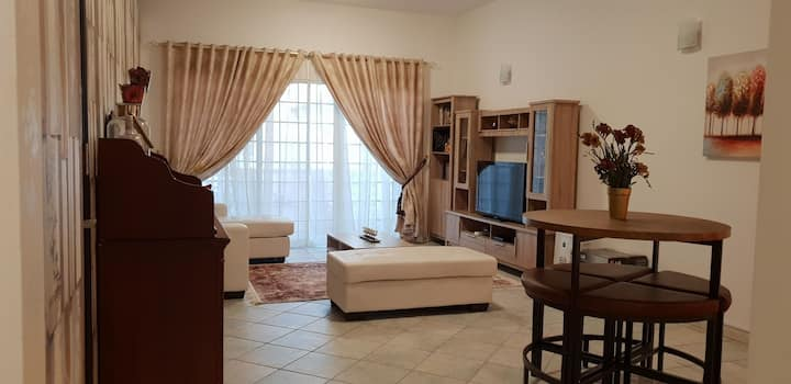 spacious private master bedroom in luxurious area