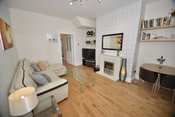 South Shields beautiful flat 2 bedrooms near beach