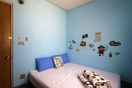 Kite Hostel blue suites Double Room - 東區