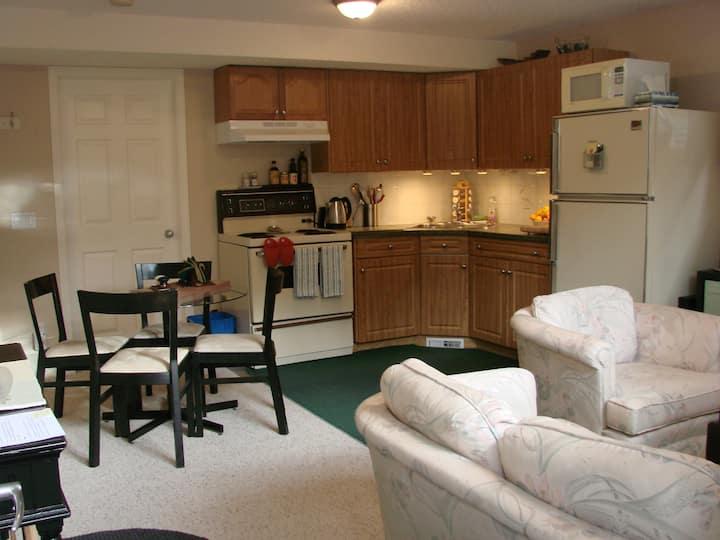 Beautiful, clean, private suite!