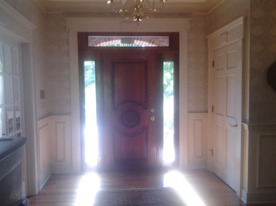 Entry Foyer from Drive