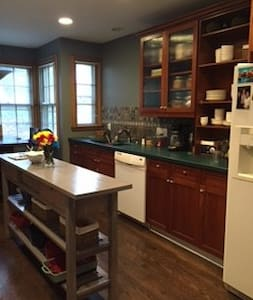 Three-bedroom Stone Colonial Home - Wauwatosa