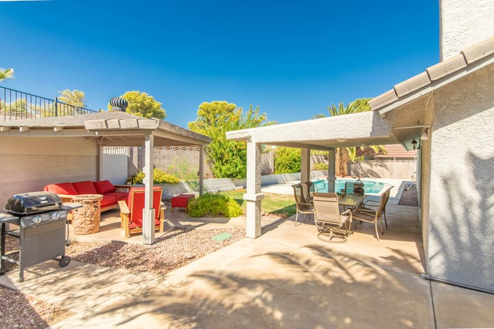 Pool Home with RV parking in a convenient location