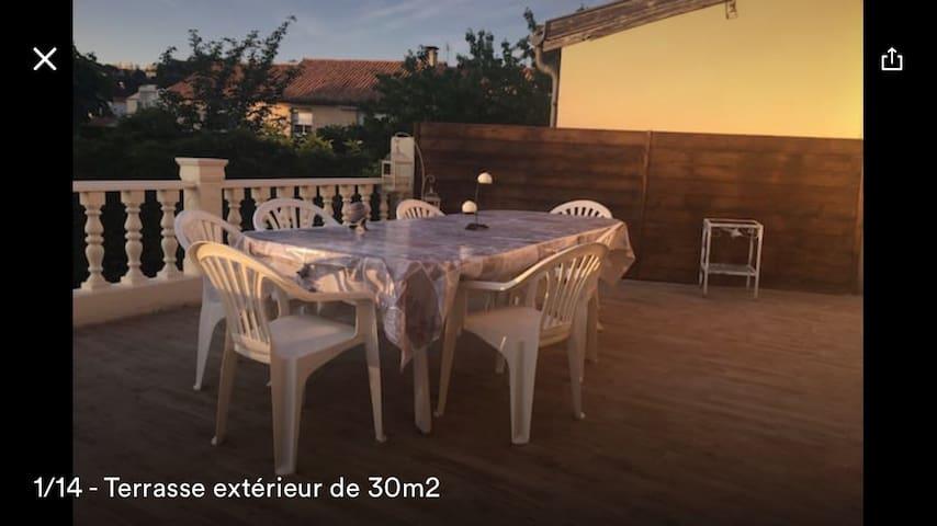 Maison avec jardin centre ville - Périgueux - Rumah