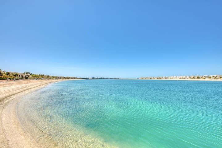 RH - Cozy 1BR Retreat in RAK, Walk to beach