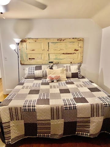 King size bed- upstairs