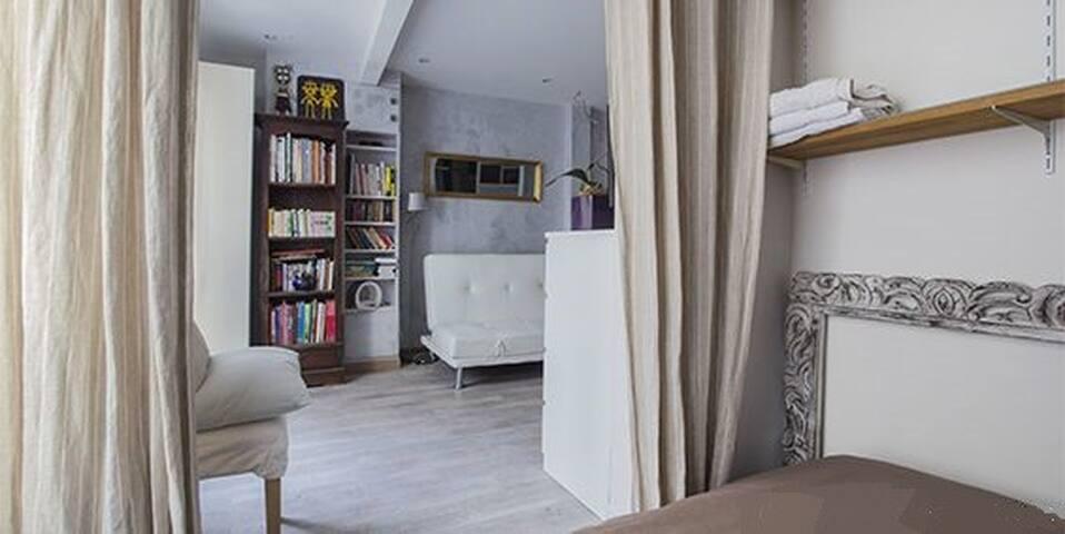 Studio Stylé et Confortable au Butte Montmartre