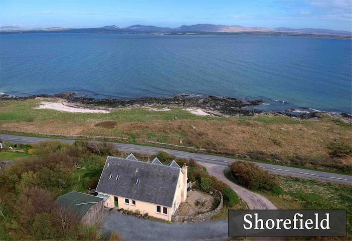 Shorefield - sea views, close to Distillery
