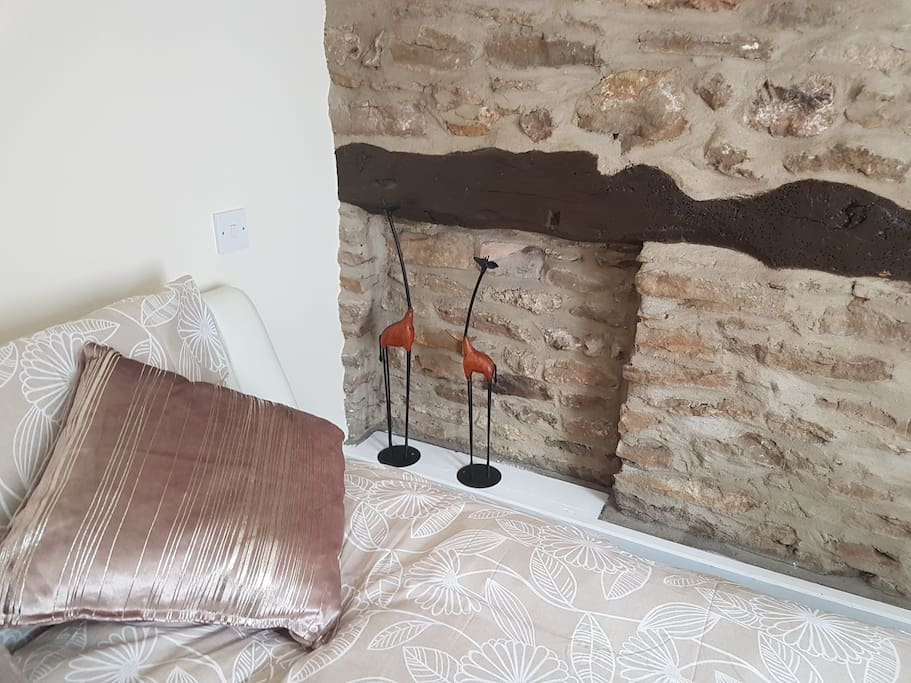 Our stone wall