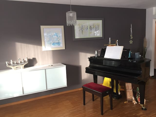 Style 4 Zi-Wohnung bei Messe - Nuremberg - Apartment