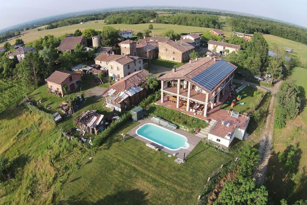 B b in agriturismo con piscina farmhouse landgasth fe - Agriturismo con piscina emilia romagna ...