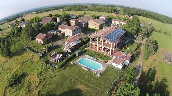 B&B con piscina CountryHouse-camera Scipione