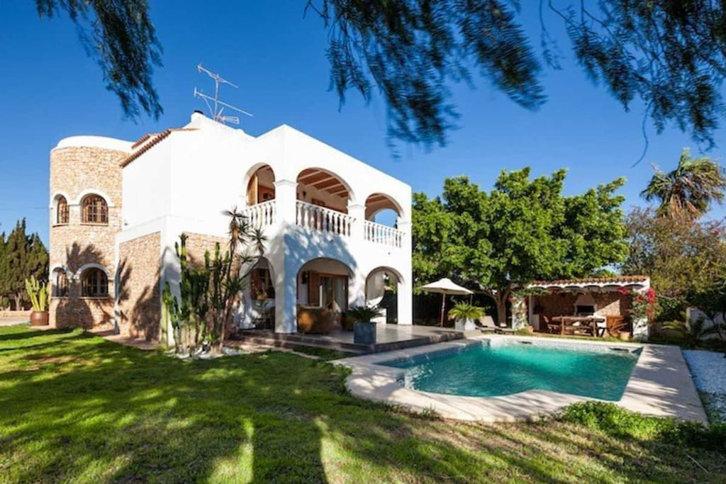 La vijanera ibiza houses for rent in sant josep de sa - Ibiza house renting ...
