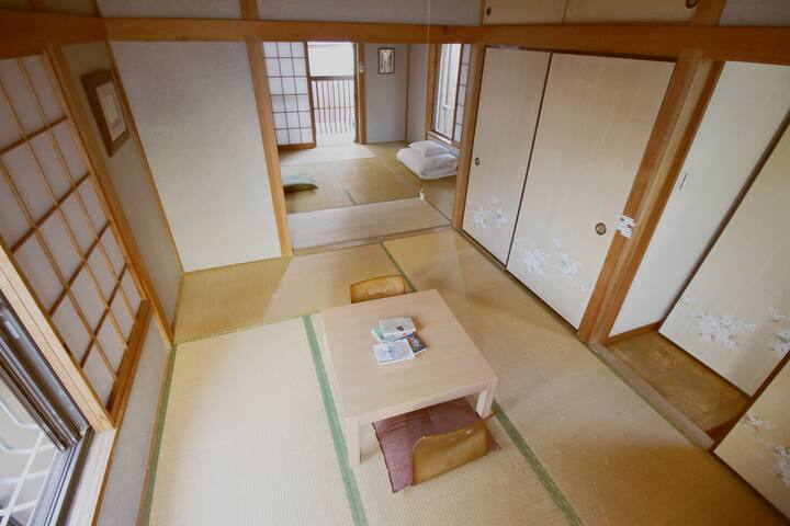LOCAL Tokyo life! 2 tatami rooms, 3min train Sta✨