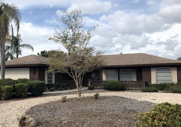 Beautiful Florida Home in exclusive neighborhood, close to river and beaches. This is where you want to be!