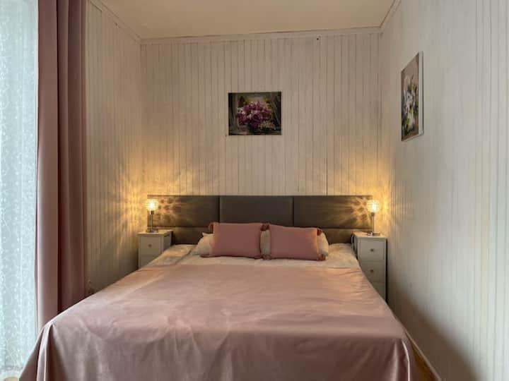 ZAKO-LODGE, pokój double z łazienką, balkonem