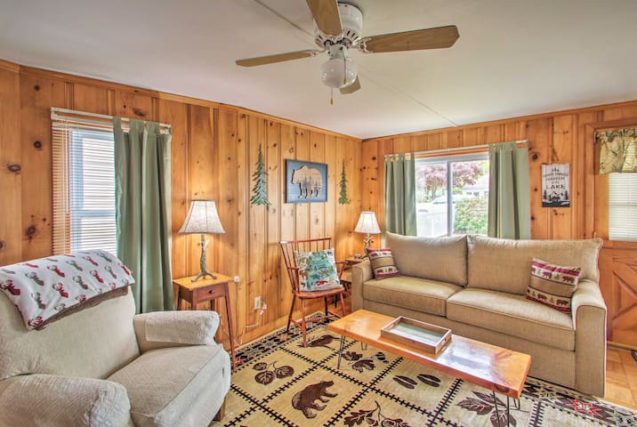 Curl up with the family inside after a day on the water!