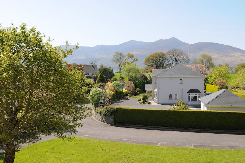 Located in a beautiful Killarney estate with stunning views.