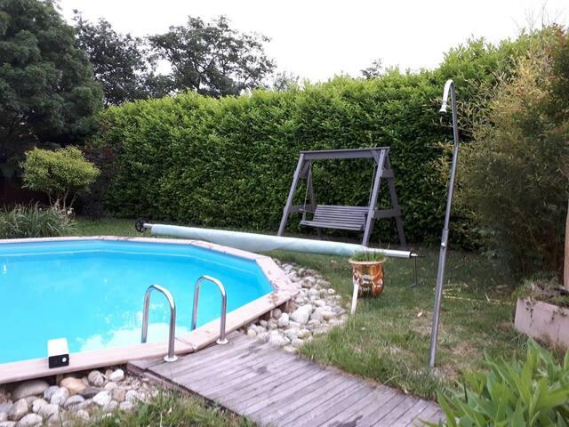 Villa Toulouse Carcassonne swim pool
