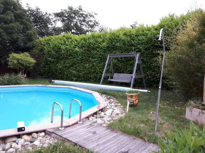 Villa Toulouse Carcassonne swim pool