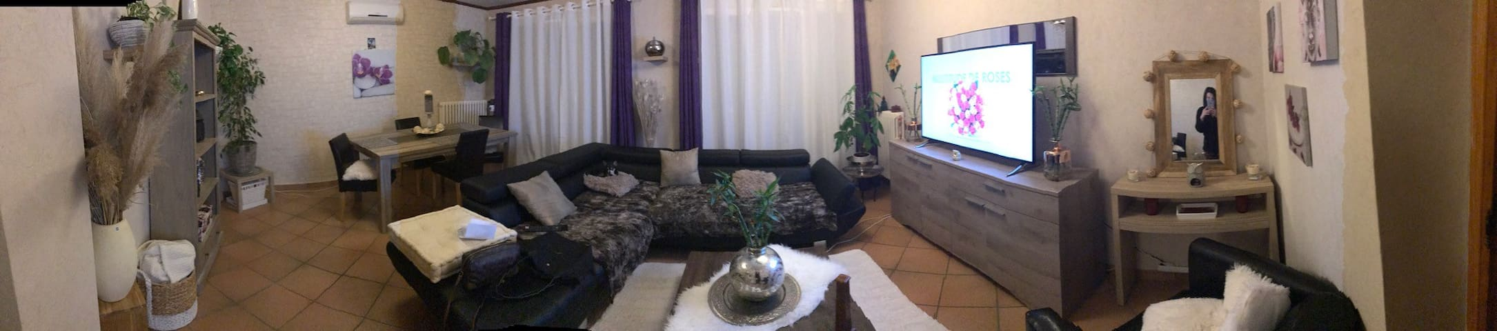 Bel appartement ensoleillé - Bourg-Saint-Andéol - Appartement