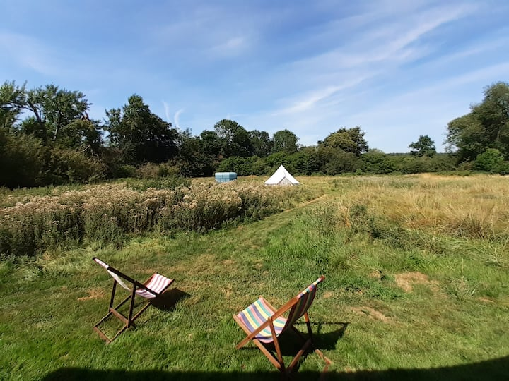 Exclusive glamping in a private nature reserve