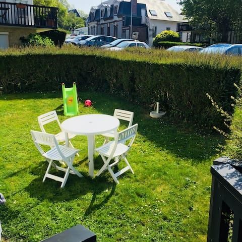 Appartement familial à Benerville proche Deauville