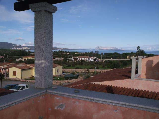 Bilo vista Tavolara a Baia S.Anna - Baia Sant'Anna