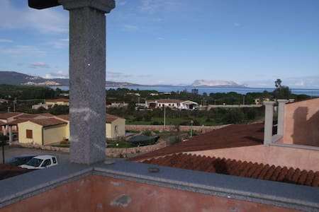 Bilo vista Tavolara a Baia S.Anna - Baia Sant'Anna - House