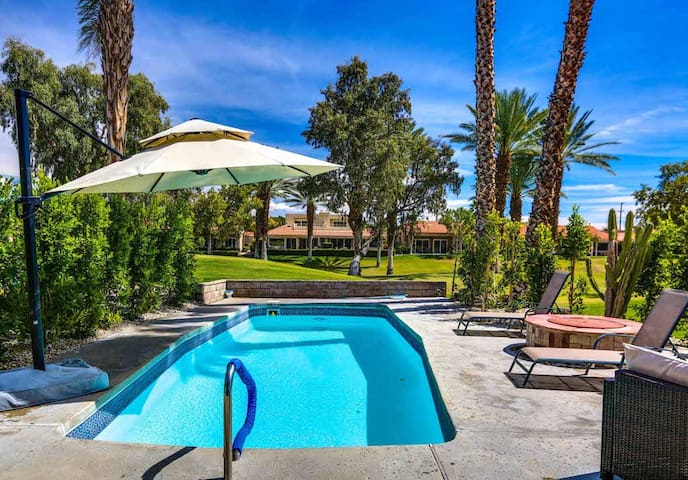 Relaxing, family-friendly home w/ a private pool & firepit - golf on-site!