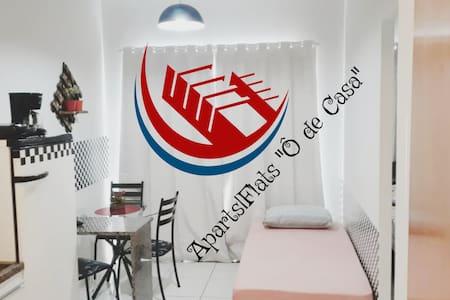Apart Flat Ô de Casa III - Wifi/Ar/Garagem/CENTRO