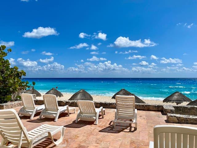Beachfront Three Bedroom Villa