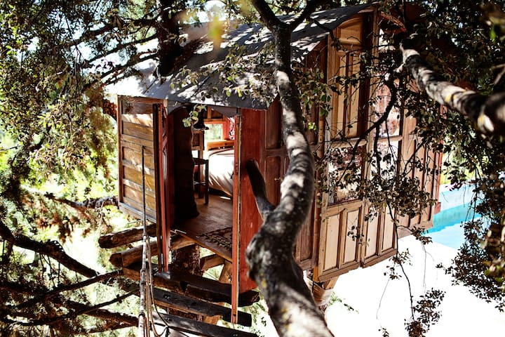 treehouse in a Natural Park  - Huétor de Santillán - Cottage