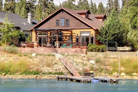 Lakefront Chalet on Boulder Bay - Big Bear Lake - Cabin