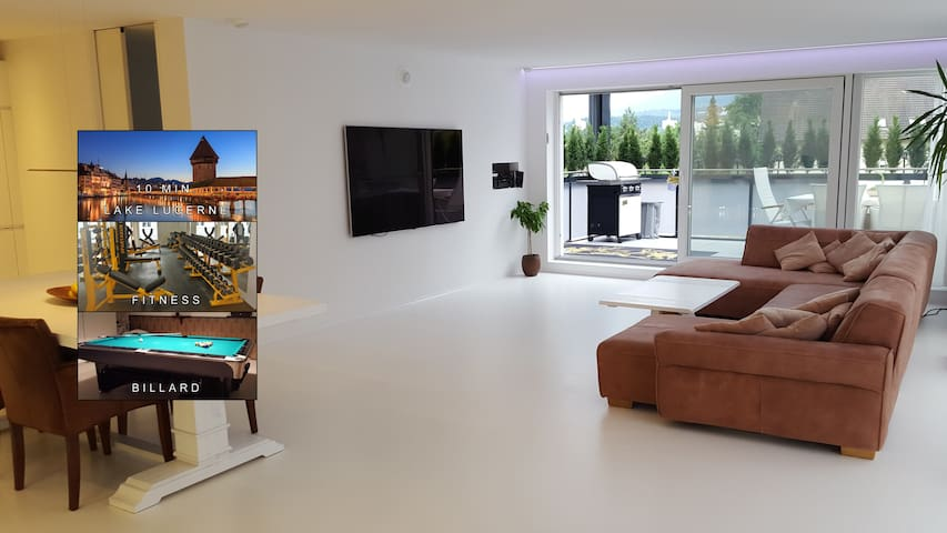 Luxury Apartment Lucerne /Penthouse - Emmen - Condominio
