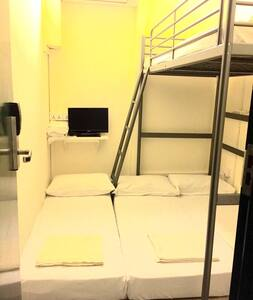 4-person Bunk/Loft Bed Private Room - Singapur