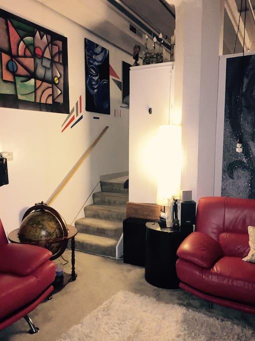 Lower Media Area  ( Family Room)