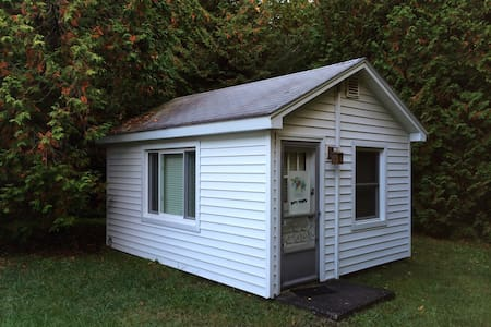 The Love Shack is only 205 sq. ft. - Saint Ignace