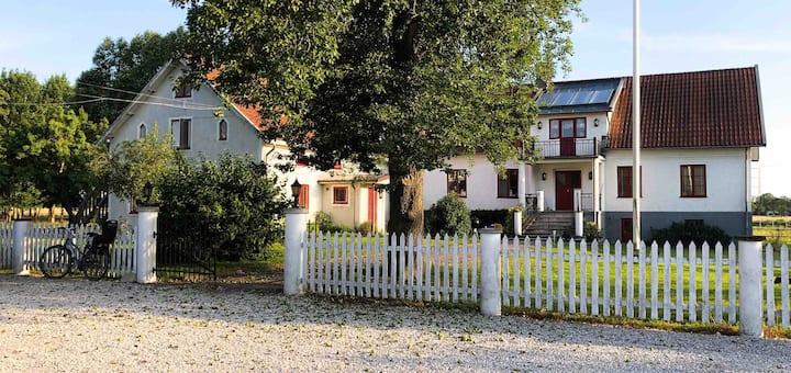 Lägenhet på Lantgård med tillgång till Spa