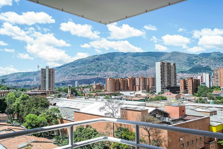 #1 FREE BREAKFAST & AMAZING BEDROOM! - Medellín - Apartmen
