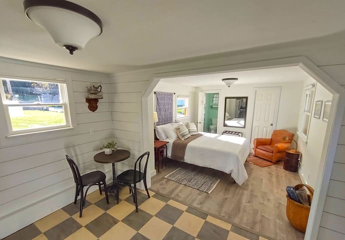 Cottage Dining Area and Bedroom