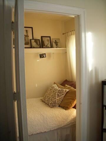 Cozy Small Bedroom Closet