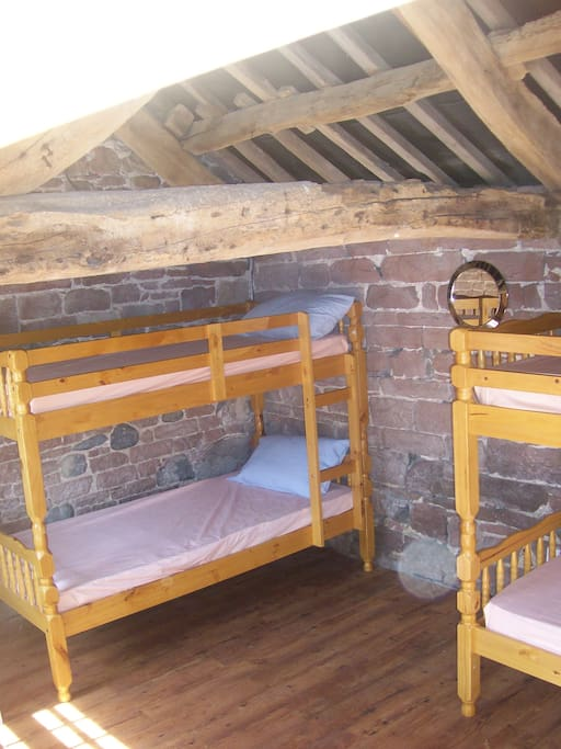 4 bedded bunk room