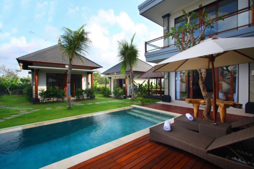 Villa avec piscine chambre de luxe proximit de la - Chambre dhote luxe normandie piscine ...