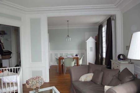 55sqm appartement 20min RER Parijs - Maisons-Laffitte
